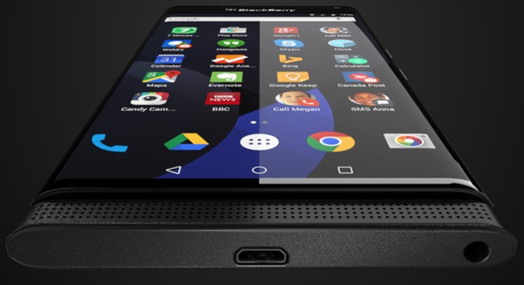 BlackBerry Venice photos show the company's next Flagship