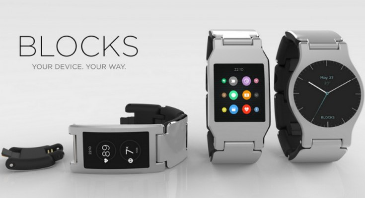 The BLOCKS Modular smartwatch fires up its Kickstarter campaign on October 13