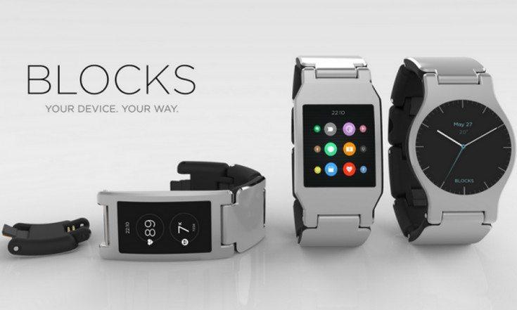 The BLOCKS Modular smartwatch fires up its Kickstarter ...