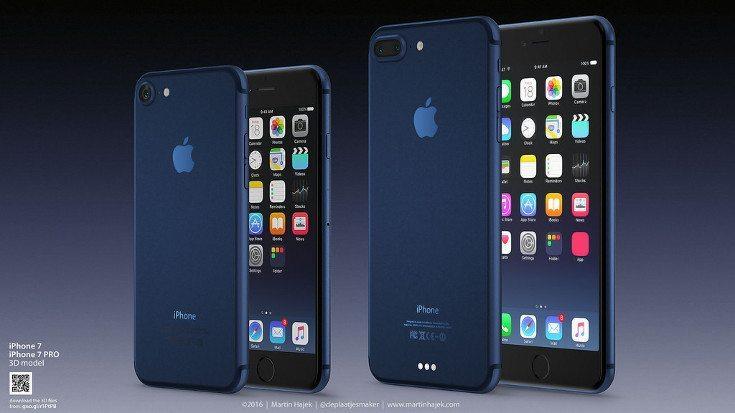 Blue iPhone 7 concept Martin Hajek