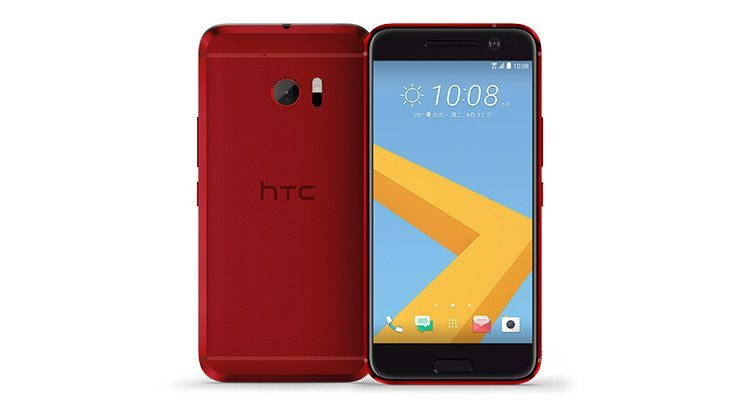Camilla Red HTC 10
