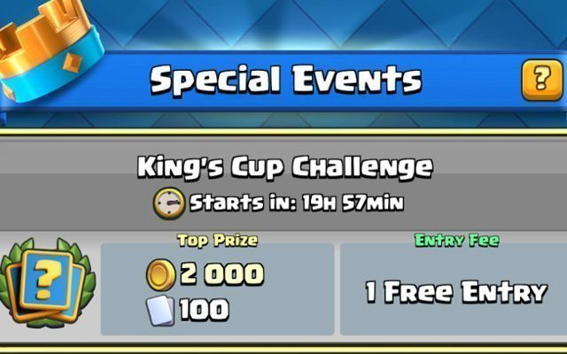 Clash Royale Double Elixir Challenge begins, Royal Barbarians incoming ...