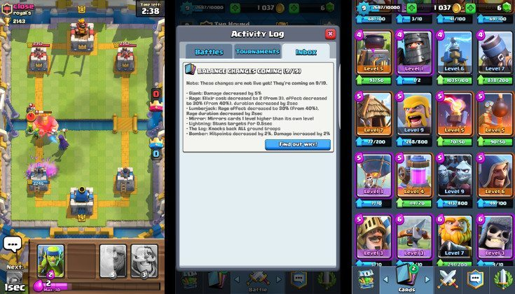 clash royale decks