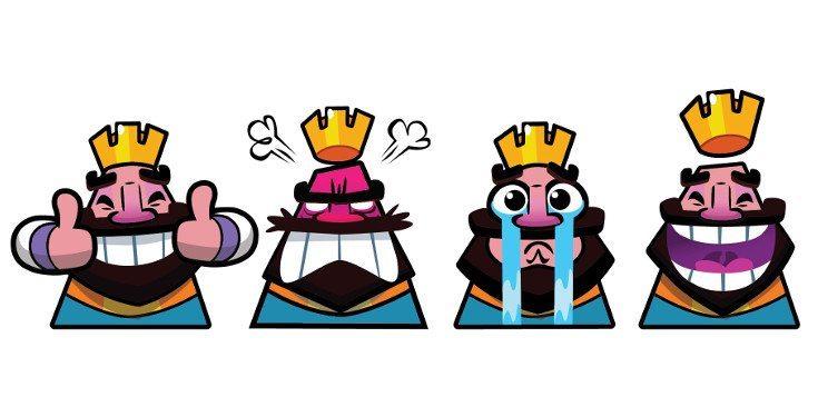clash royale emoticon spam