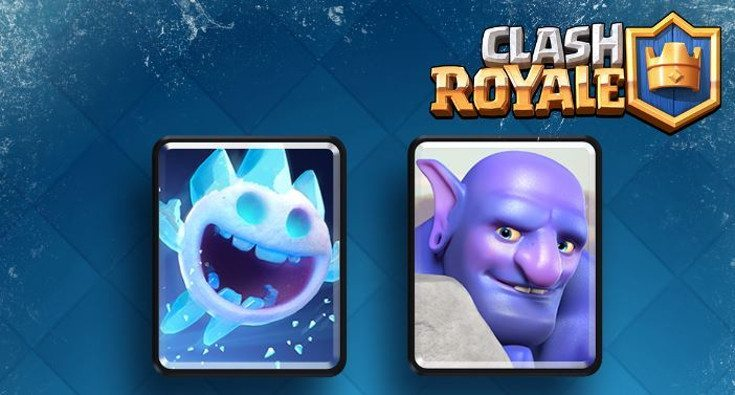 ... excited for tournaments and the new cards in the Clash Royale update