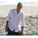 George Clooney caresses blacked out Galaxy Nexus