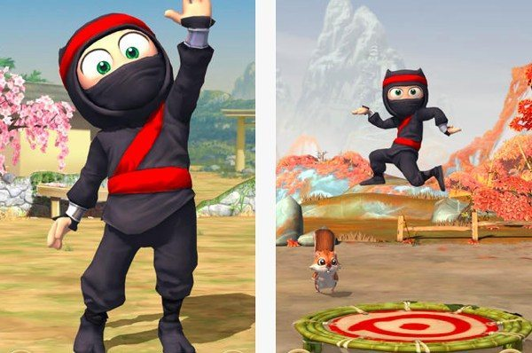 Clumsy Ninja for iPhone, iPad, US and UK app arrival