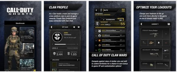 cod ghosts app for android