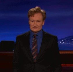 iPad mini slapped by Conan O'Brien: video