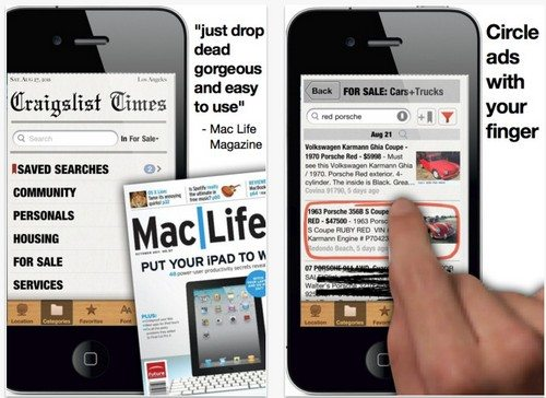 Craigslist app for iPhone & iPad and new update ...