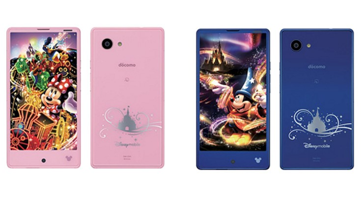 Sharp Disney DM-01H smartphone set for a January release in Japan