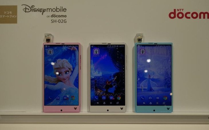 Disney Mobile SH-02G specs show a surprisingly powerful device