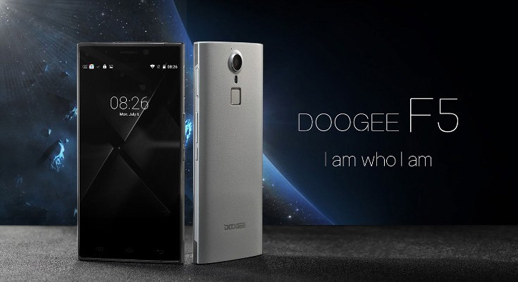 Doogee F5 price and specifications have been revealed