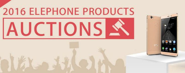 Elephone Auctions opens up to offer Smartphones and Wearables