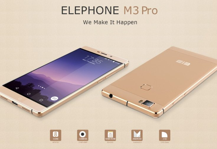 elephone m3 pro leaks with flagship specs phonesreviews uk mobiles apps networks software. Black Bedroom Furniture Sets. Home Design Ideas