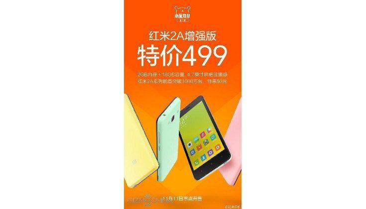enhanced Xiaomi Redmi 2A