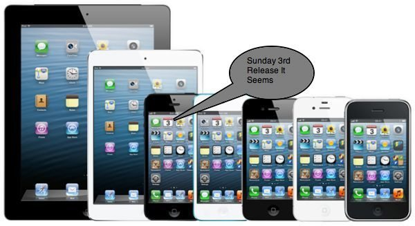evad3rs evasi0n iOS 6 Untethered jailbreak release, list includes iPhone 5