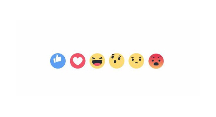 Facebook Reactions are live with Five New Buttons