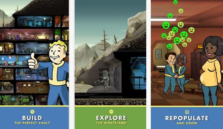 Mobile Game Fallout Shelter Cat