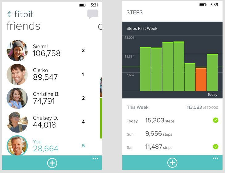 Fitbit Windows 8.1 app finally arrives