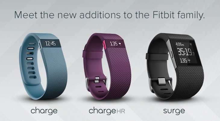 fitbit 2014 lineup