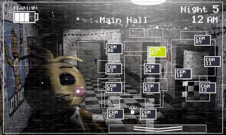 Five Nights at Freddy's 2 for Android has arrived