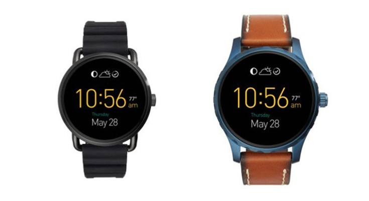 Fossil introduces the Fossil Q Wander and Q Marshal Smartwatches