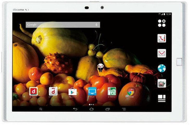 Fujitsu gets into the QHD game with the Fujitsu Arrows Tab F-03G