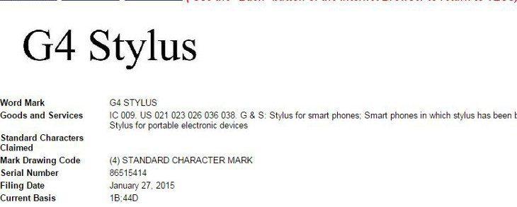 G4 Stylus