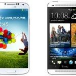 galaxy S4 vs htc one pricing