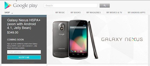 Galaxy Nexus ban in effect, pulled from Google Play