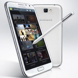 Samsung Galaxy Note 2 getting O2 and 3 UK loving