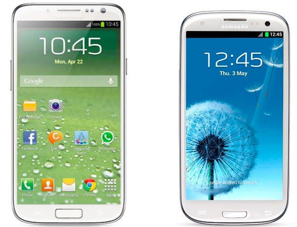 Comparison Galaxy s3 And s4 Galaxy-s3-vs-galaxy-s4
