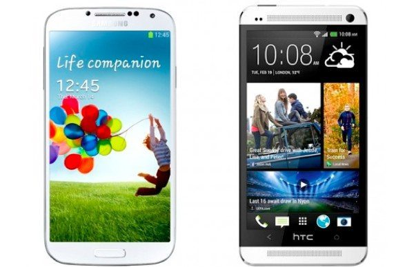 Samsung Galaxy S4 and HTC One, a look in the US crystal ball