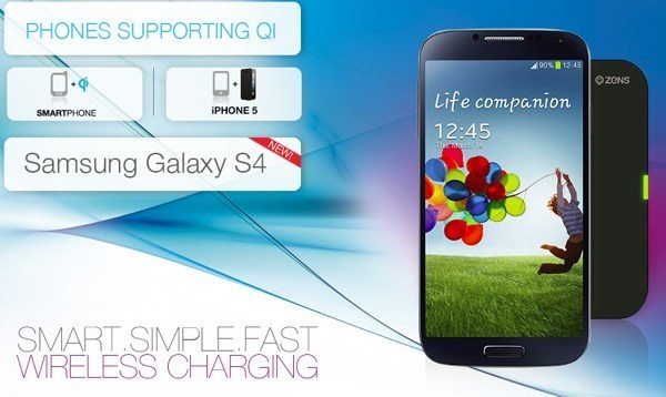 Samsung Galaxy S4 and Note 2 ZENS technology benefit