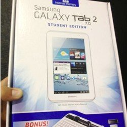 Galaxy Tab 2 7.0 new Student Edition Bundle $250 for limited time