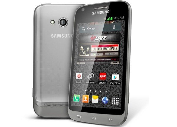 Samsung Galaxy Victory 4G LTE online pricing with Virgin Mobile