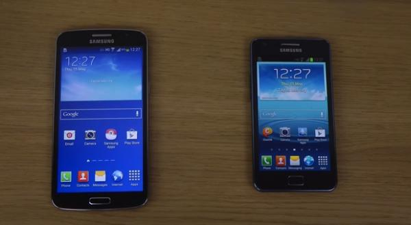 Samsung Galaxy Grand 2 vs Galaxy S2 Plus square up