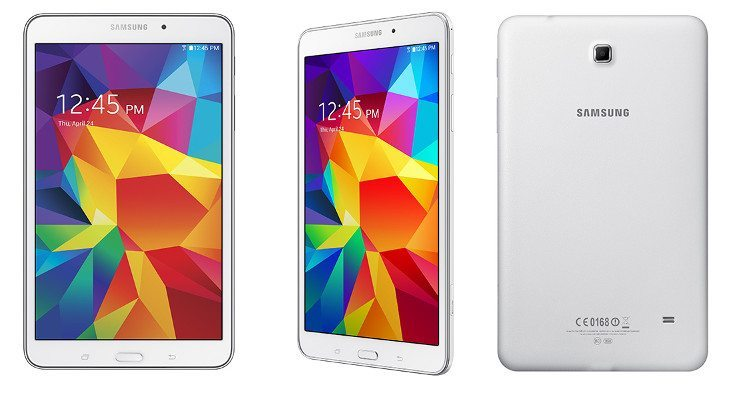 The Samsung Galaxy Tab 4 8.0 arrives at AT&T