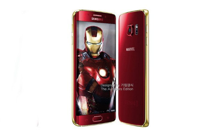samsung galaxy s6 iron man