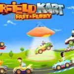 garfield kart fast and furry