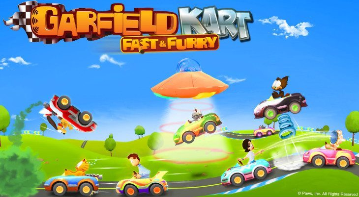 Garfield Kart Fast & Furry zooms onto mobiles