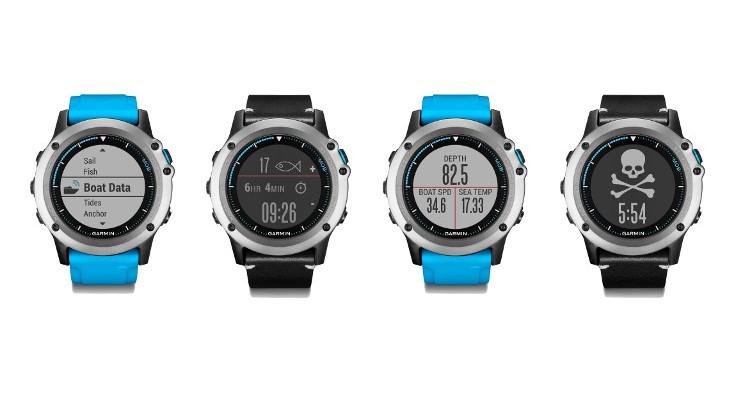The New Garmin Quatix 3 launched for Aquatic Enthusiasts