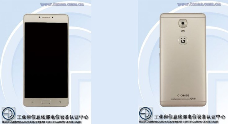Gionee M6 specs appear through TENAA listing