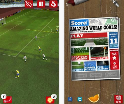 Score World Goals for iOS sees massive update