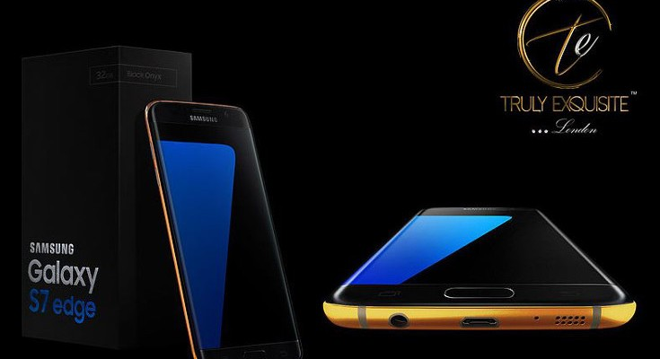 Gold Samsung Galaxy S7 gets listed, prices start at £1,700