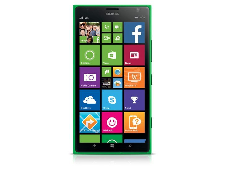 Green Nokia Lumia 1520 arrives at AT&T for $199