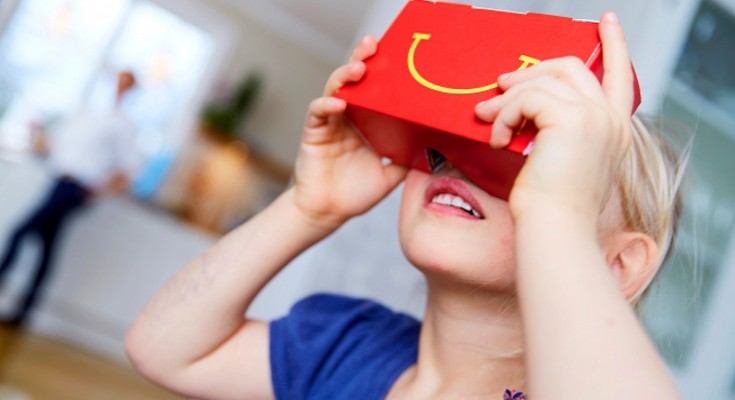 McDonalds releasing Happy Goggles VR headsets in Happy Meals