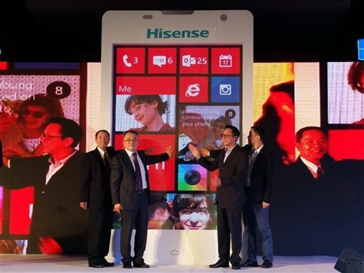 The HiSense Nana Windows 8.1 smartphone is Official