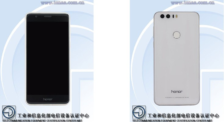 Honor 8 TENAA hits with 4GB of RAM and Dual Cameras